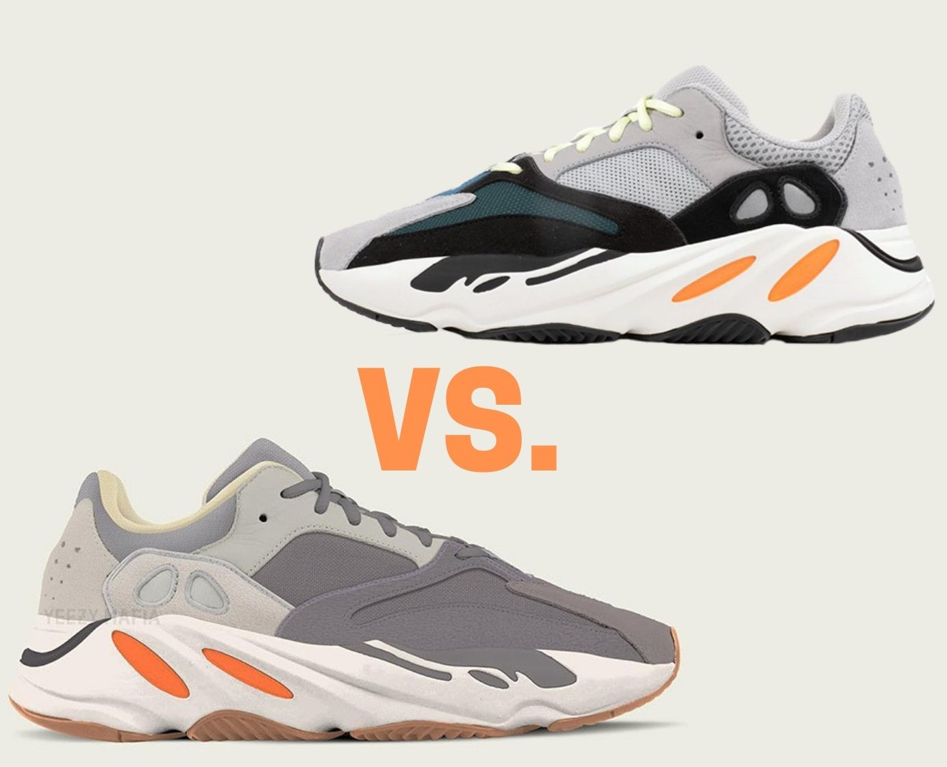 reputable site 34328 aefb9 Yeezy 700 Waverunner Vs. Magnet: Which One Do You Prefer?