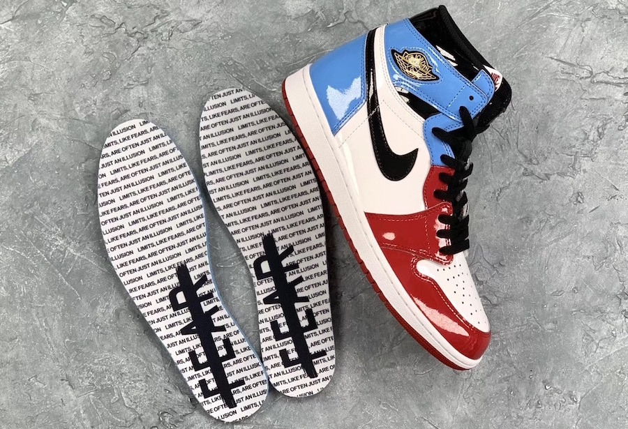 Air Jordan 1 - Fearless Insoles