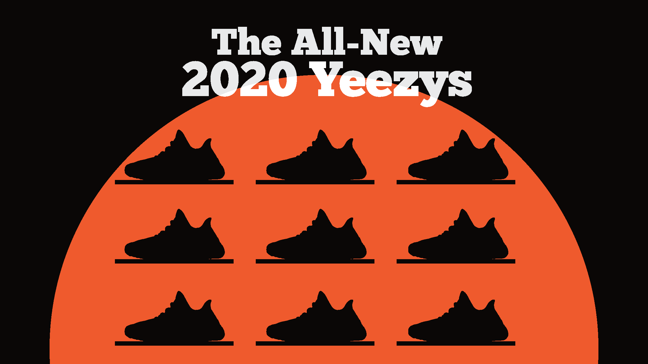 Different Yeezy Boost 350 Sneakers